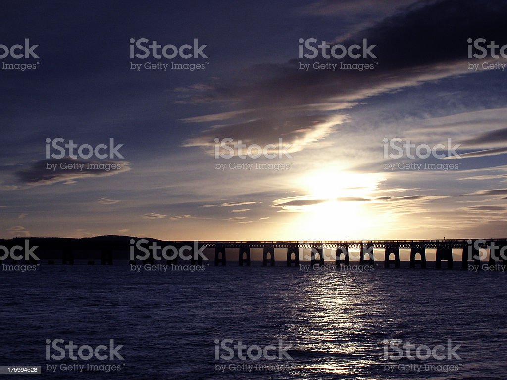 Blue Tay stock photo