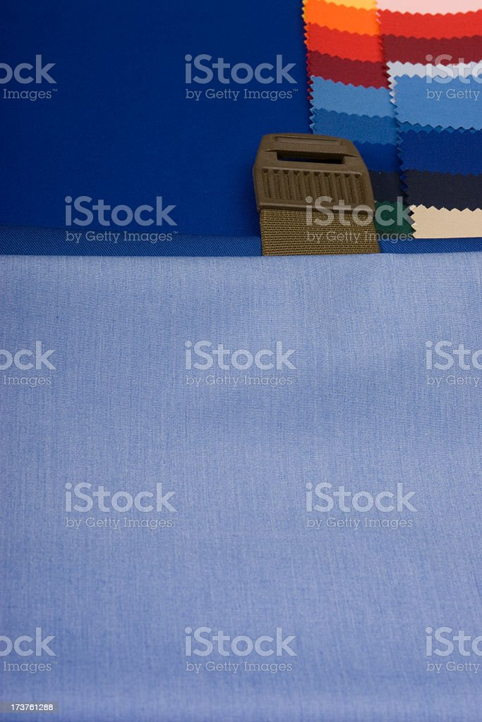 blue textile background royalty-free stock photo