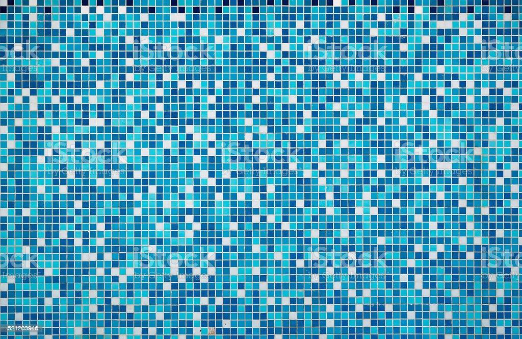 Blue texture Pool Tile stock photo
