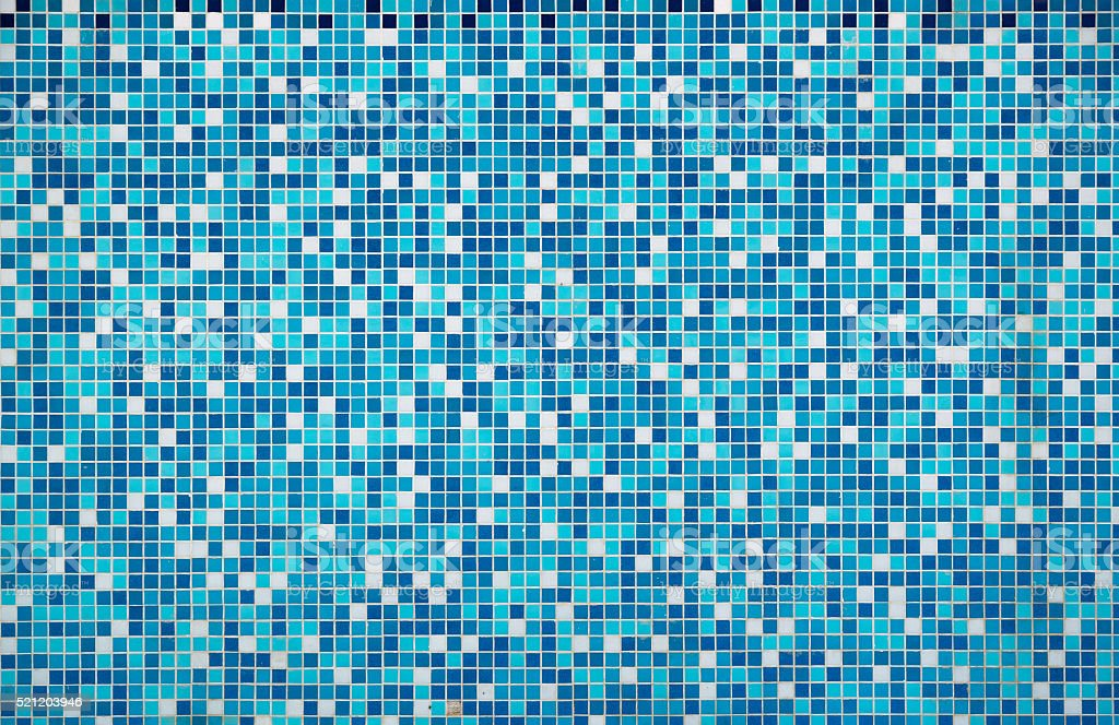 Blue texture Pool Tile stock photo