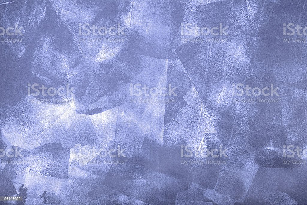 Blue Textured Paint royalty-free stock photo