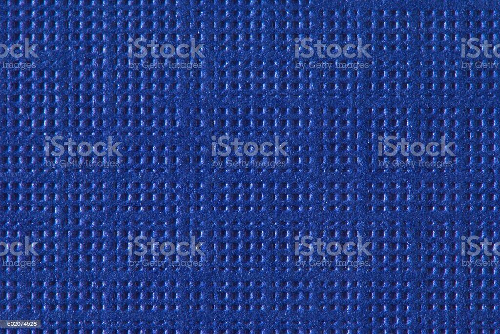 Blue Textured Paper Macro stock photo