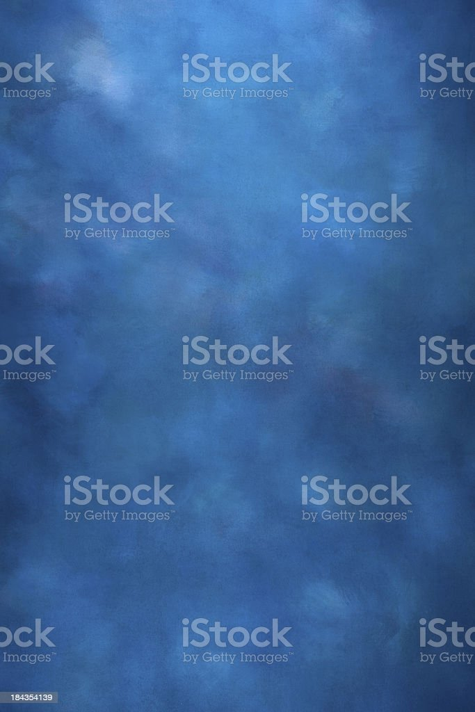 Blue textured studio backdrop stock photo