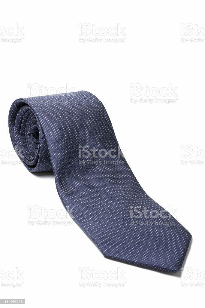 Blue Tie royalty-free stock photo