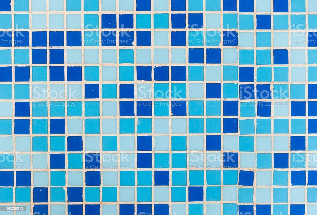 blue tile background stock photo