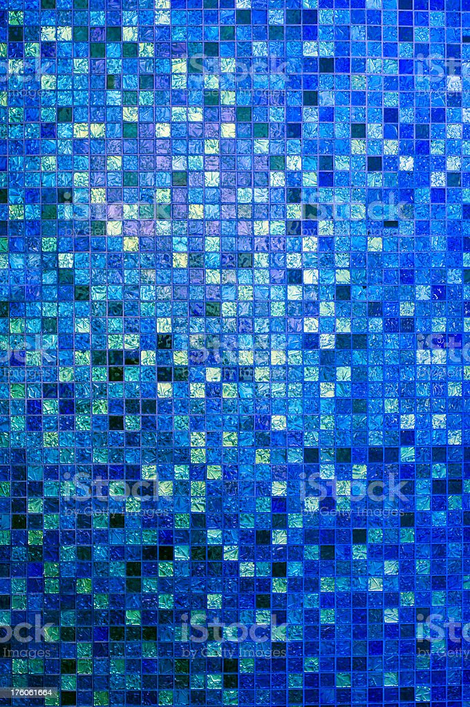 Blue Tiles royalty-free stock photo