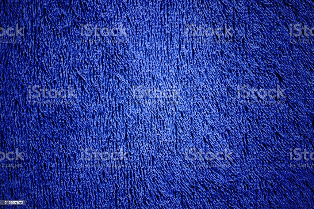 Blue Towel Background stock photo