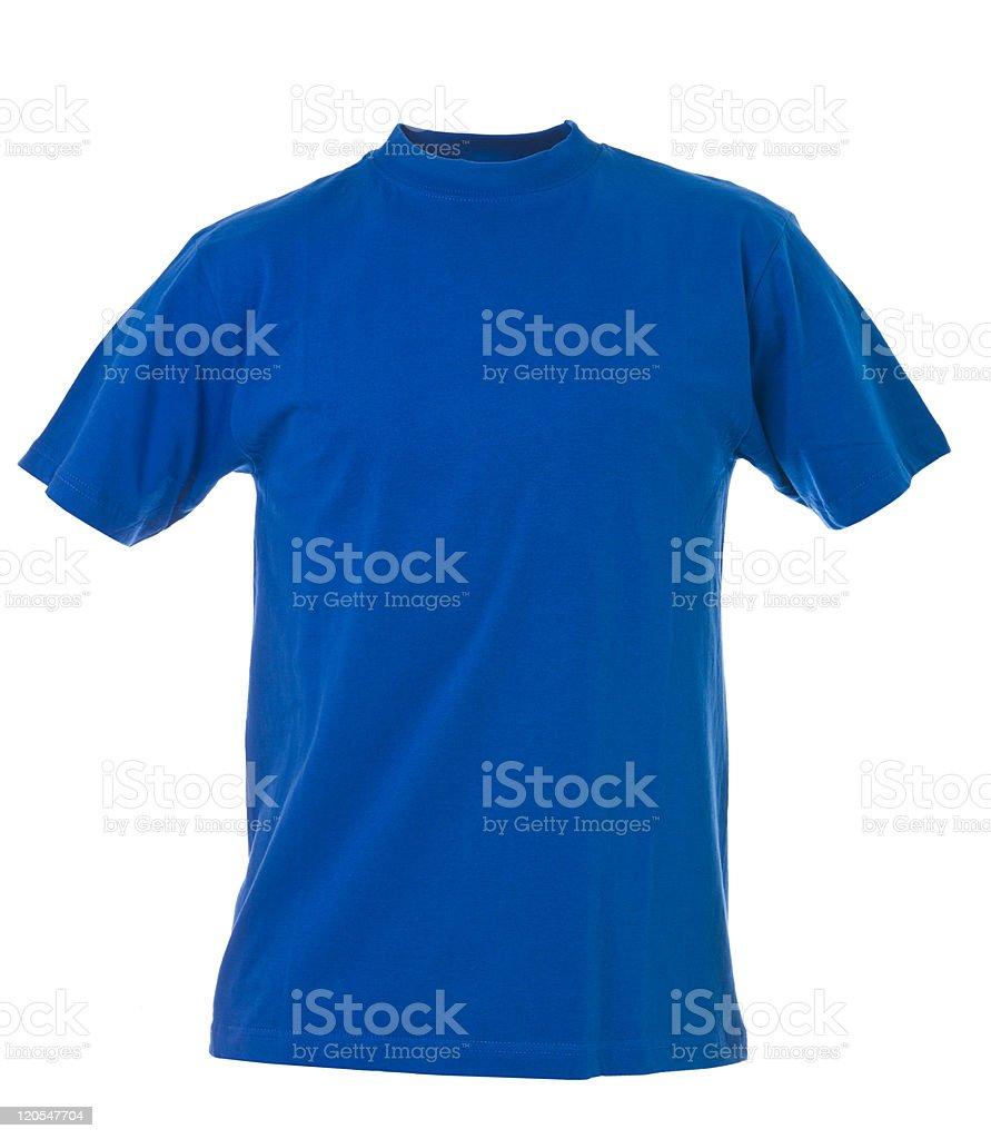 Blue T-shirt stock photo