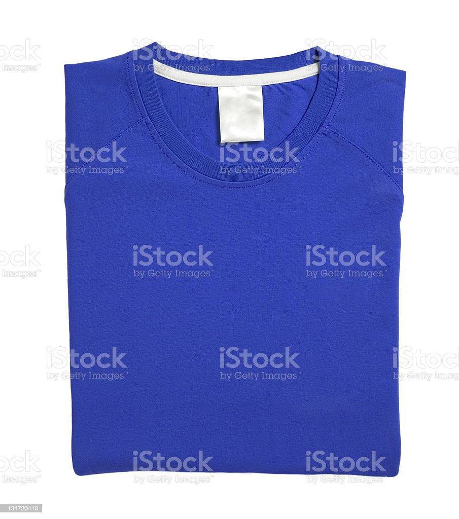 blue Tshirt royalty-free stock photo