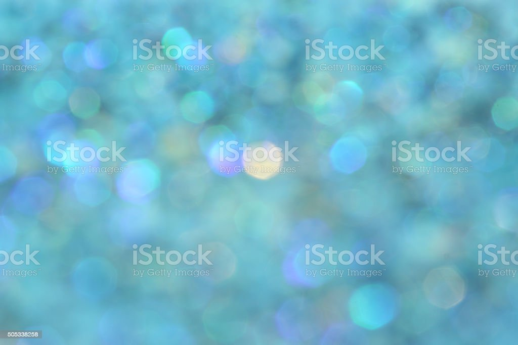 Blue turquoise glitter abstract background stock photo