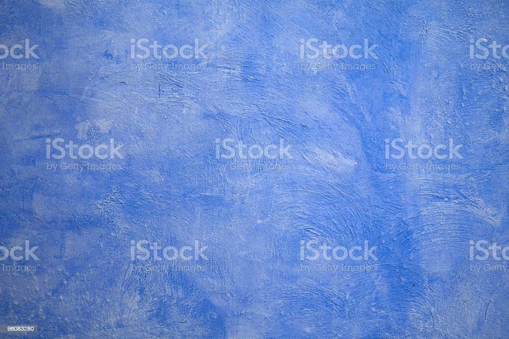 Blue tuscan wall royalty-free stock photo