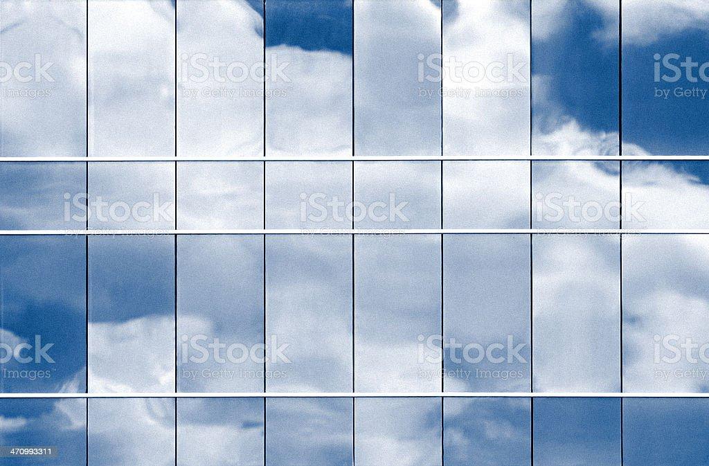 Blue Urban Texture royalty-free stock photo
