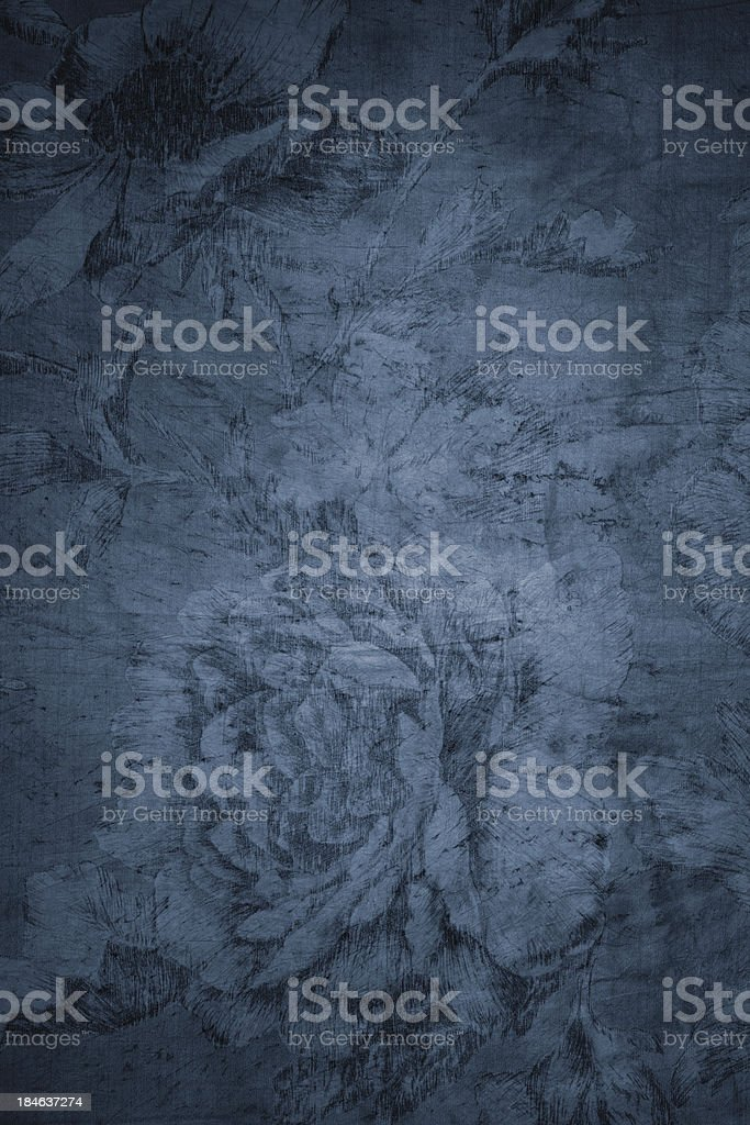 Blue Victorian Background royalty-free stock photo