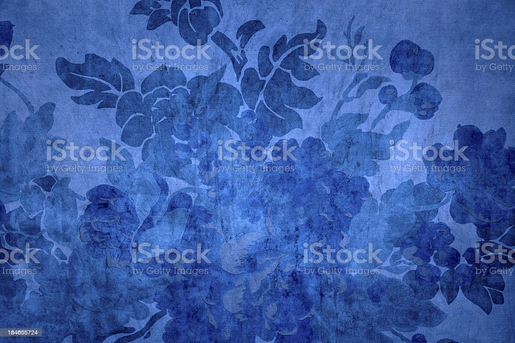 Blue Victorian Background stock photo