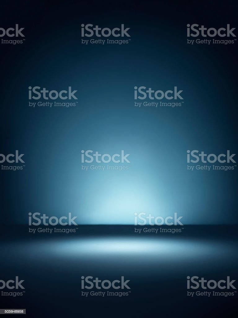 Blue vignette background - Stock Image stock photo