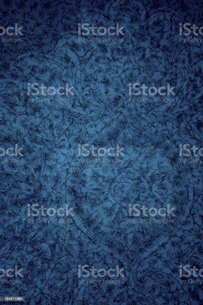 Blue Vintage Abstract Background stock photo