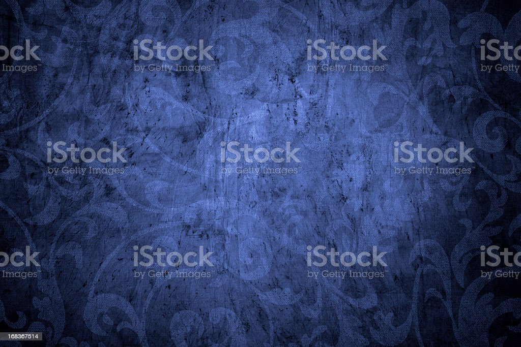 Blue Vintage Background stock photo