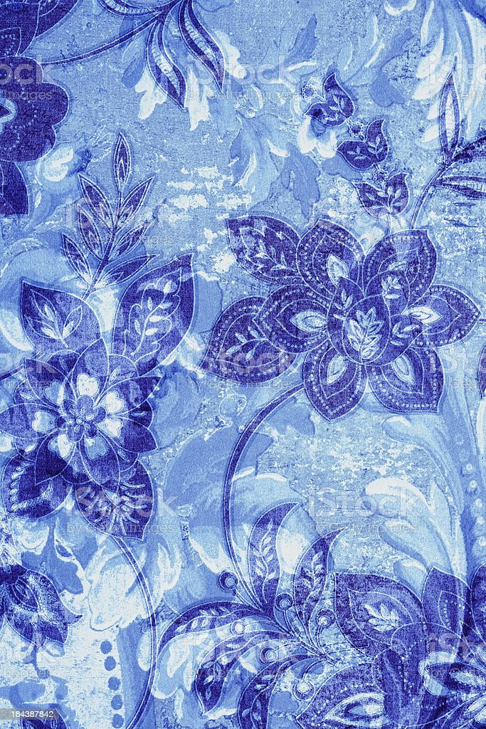 Blue Vintage Background royalty-free stock photo