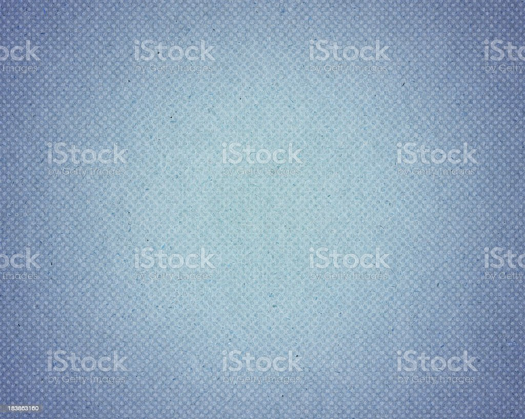 blue vintage paper with halftone stock photo