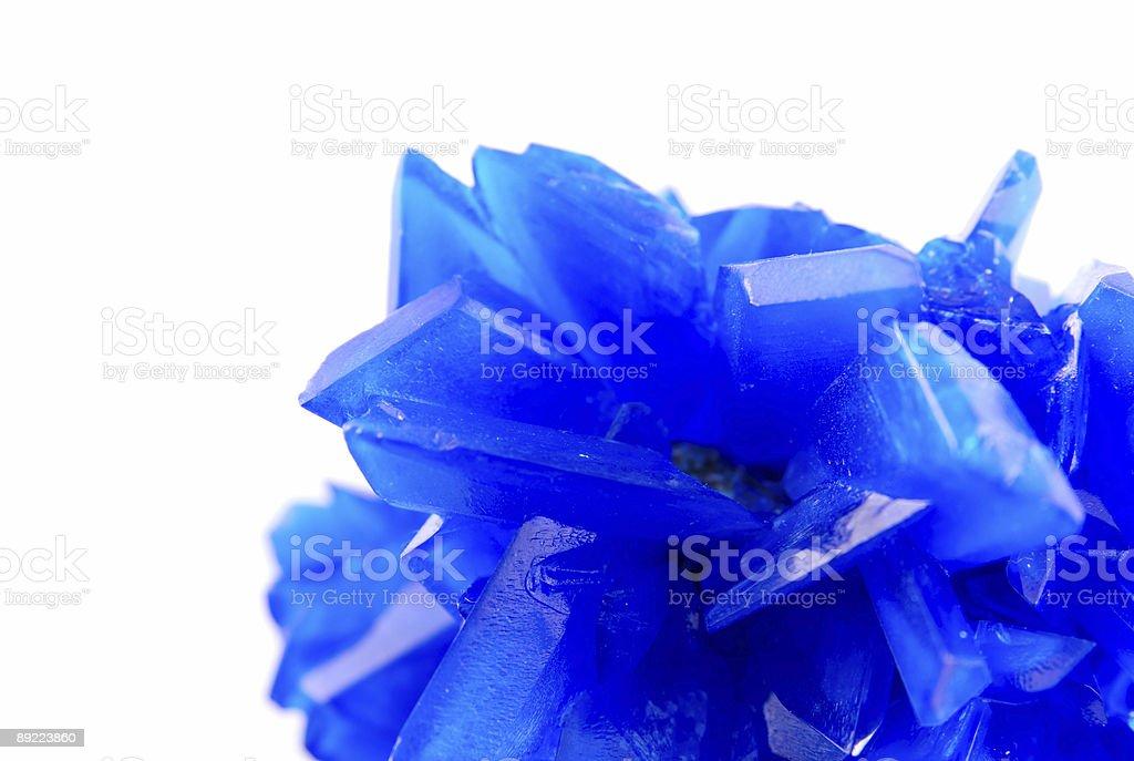 Blue vitriol royalty-free stock photo