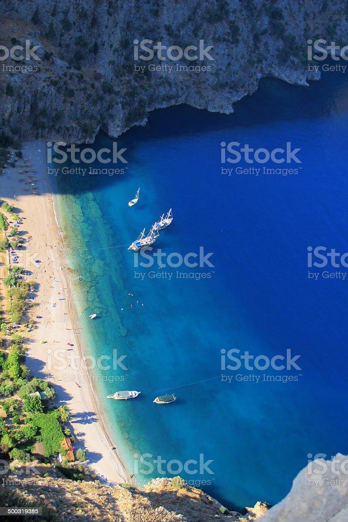 Blue Voyage stock photo