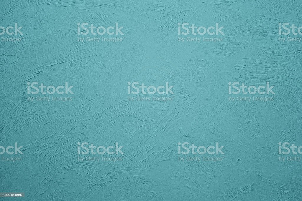 blue wall retro background stock photo