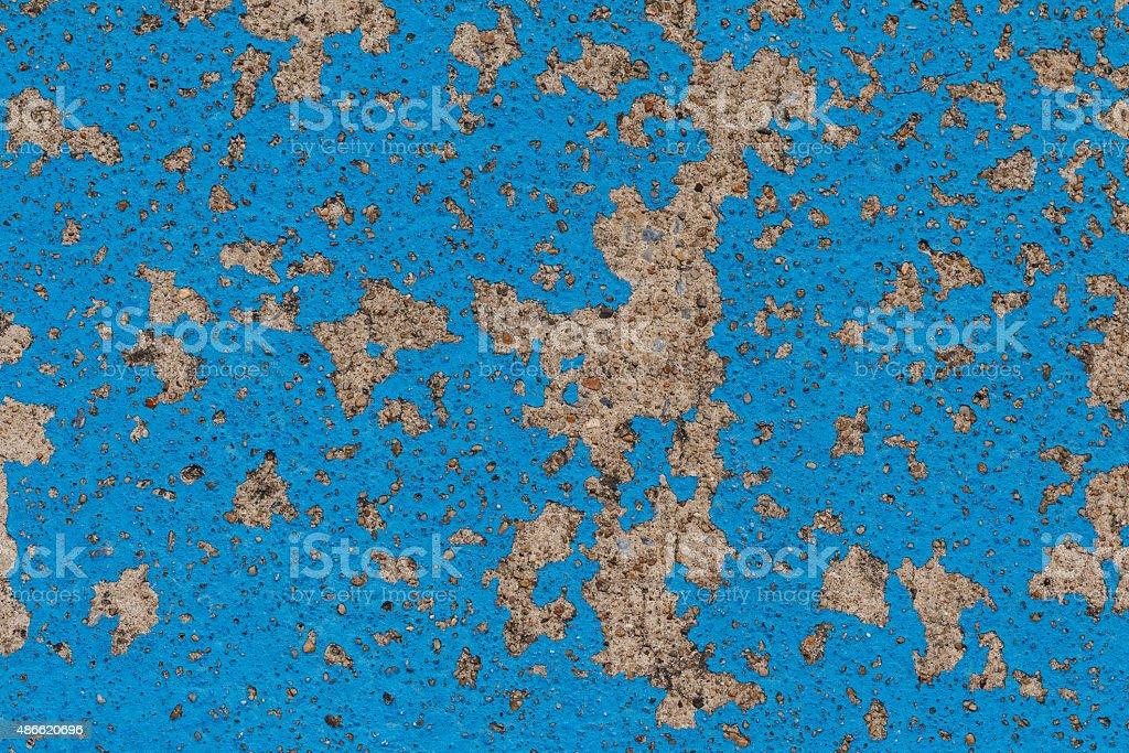 Blue wall texture. stock photo