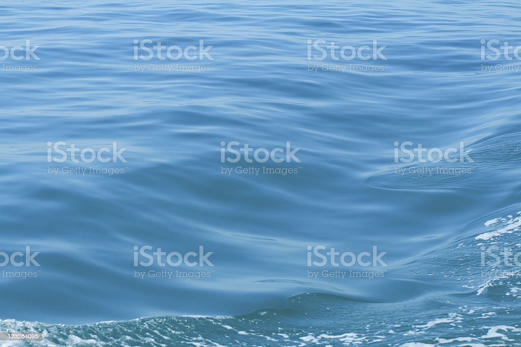 Blue water Background royalty-free stock photo