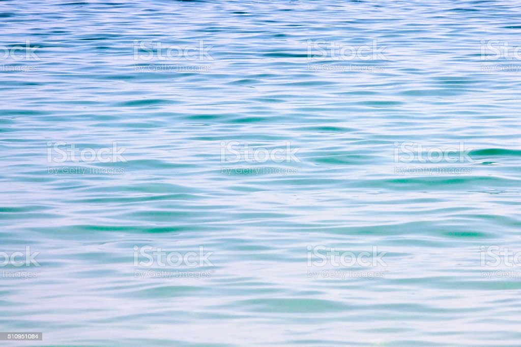 Blue water background. stock photo