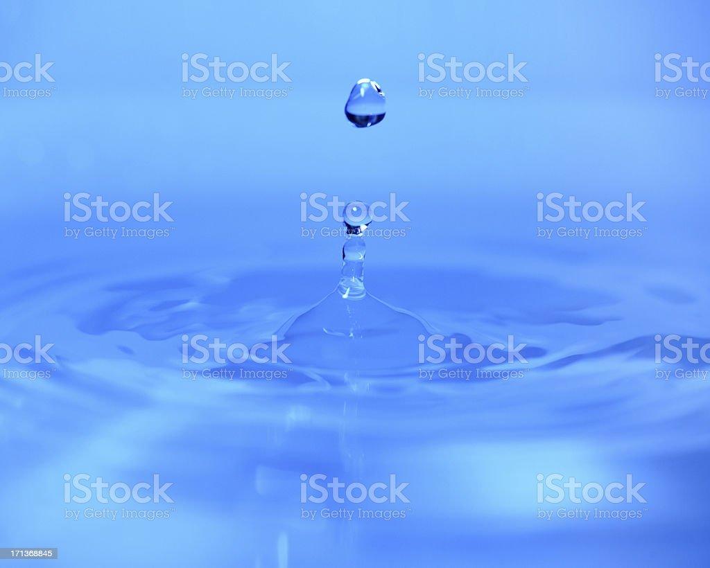 Blue Water Backgrounds - XXXLarge stock photo