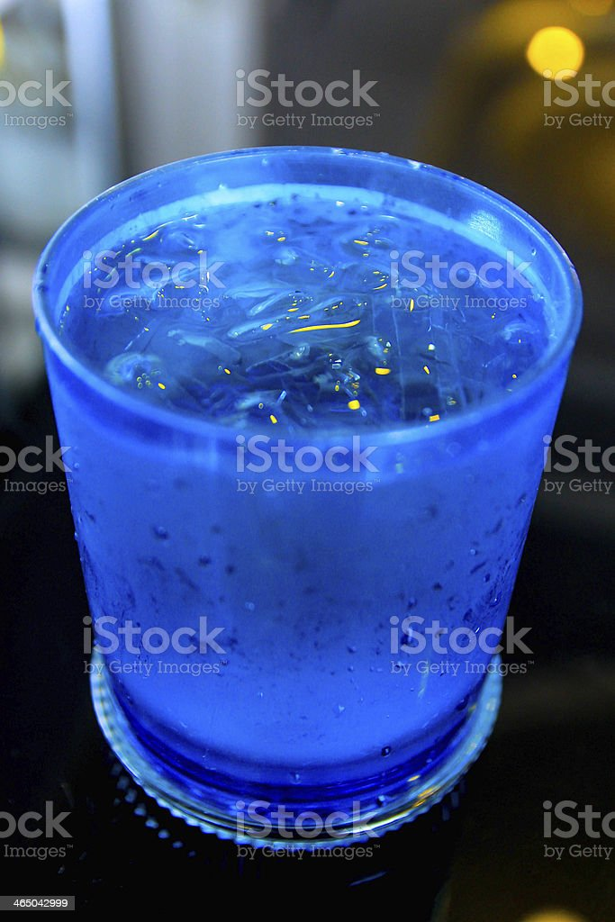blue water stock photo