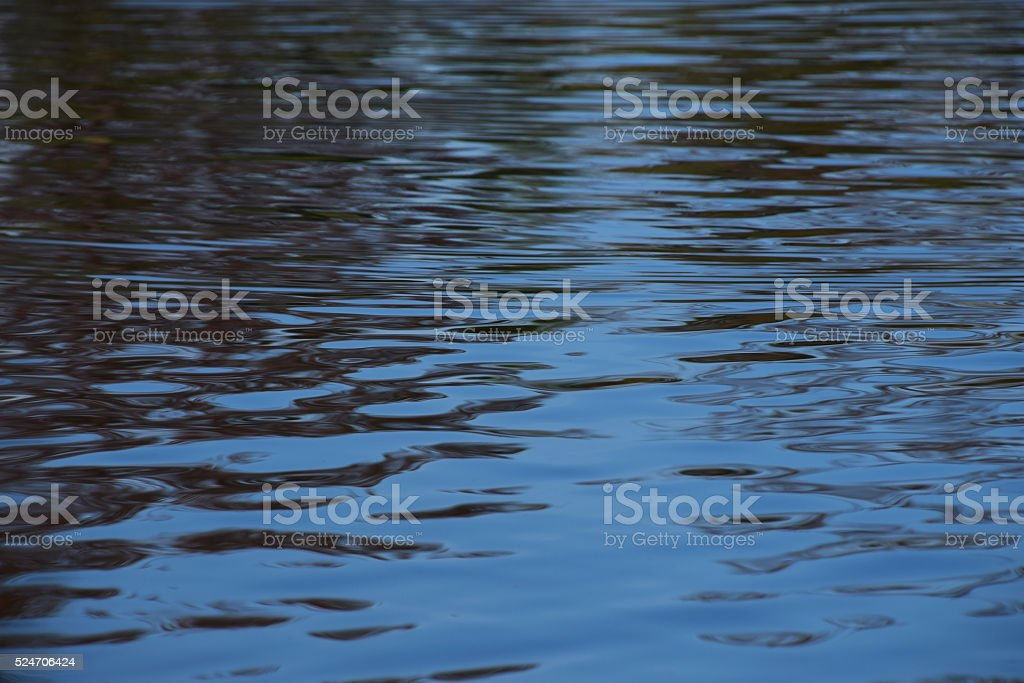 Blue water ripples surface texture royalty-free stock photo