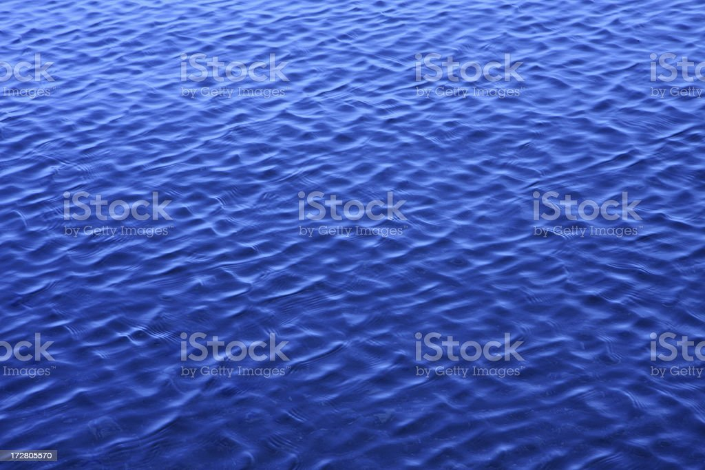 blue water surface royalty-free stock photo