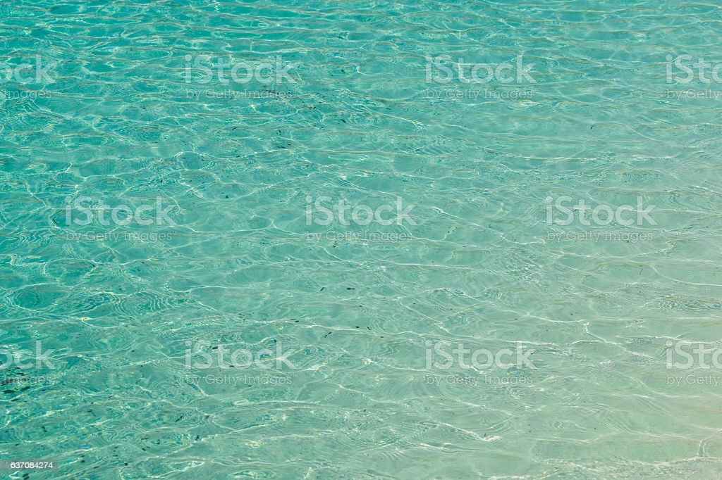 Blue water surface texture background. stock photo
