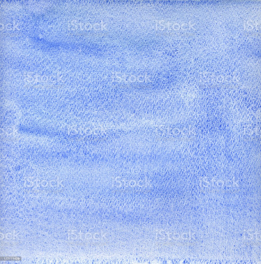 Blue watercolor background royalty-free stock photo