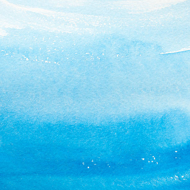 Watercolor Painting Blues