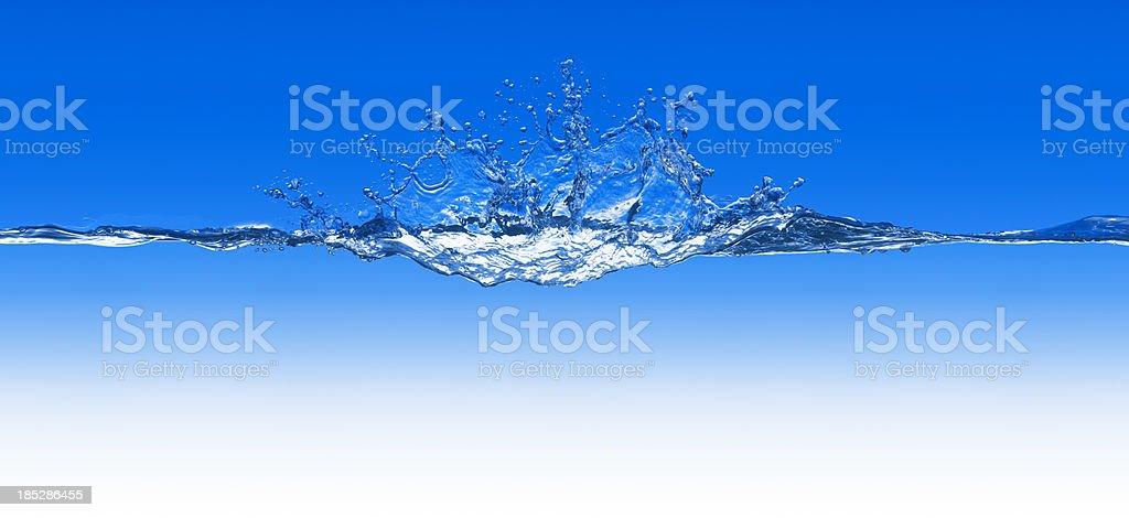 Blue Wave XXXL royalty-free stock photo