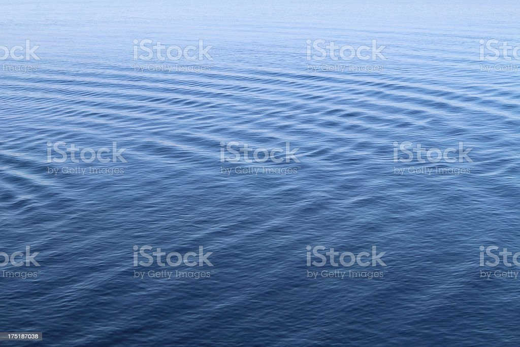 Blue Waves royalty-free stock photo