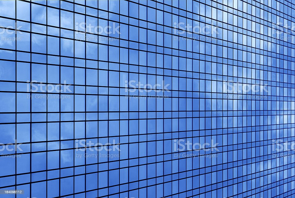 blue windows royalty-free stock photo