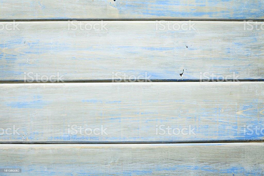 Blue Wood Background royalty-free stock photo