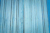 Blue wood plank surface texture