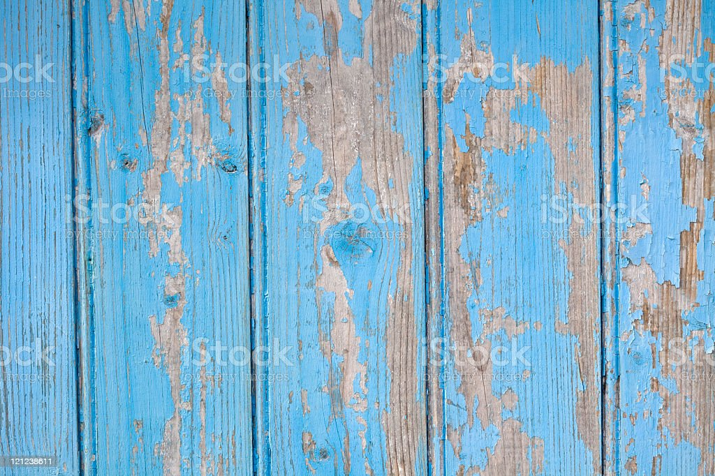 blue wooden wall royalty-free stock photo