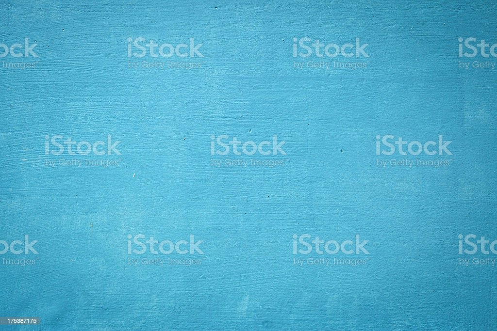 Blue Wooden Wall Texture stock photo