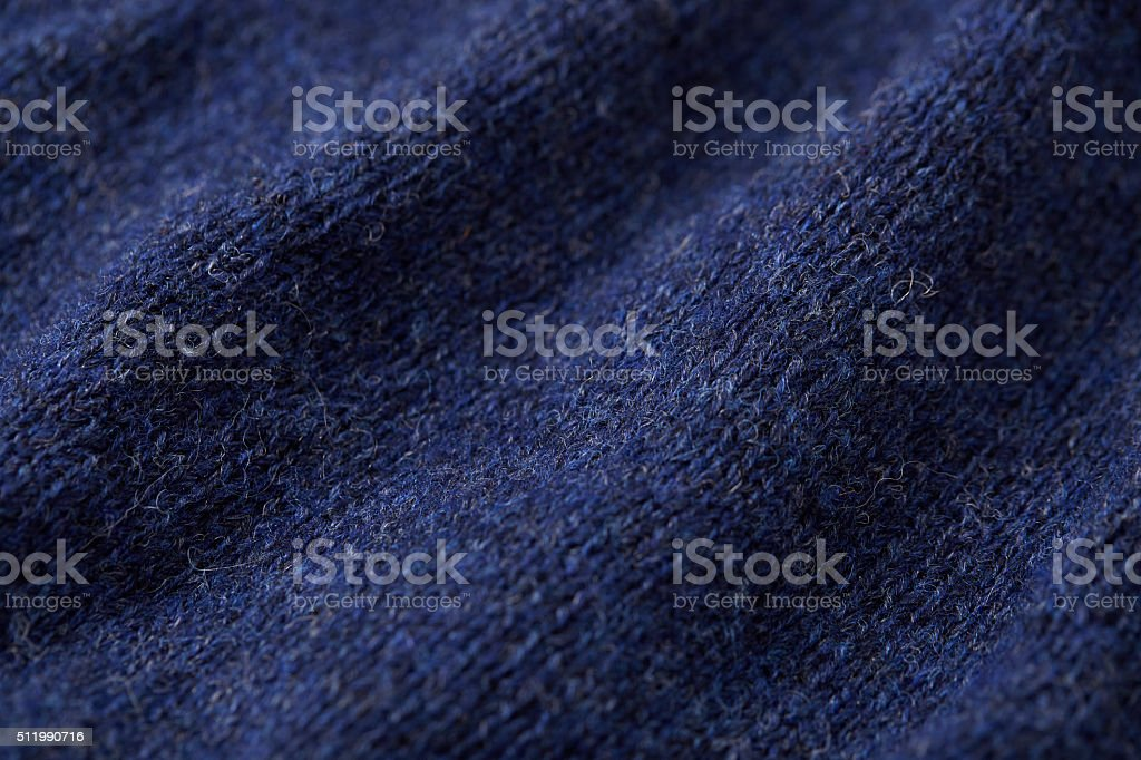 Blue Wool stock photo