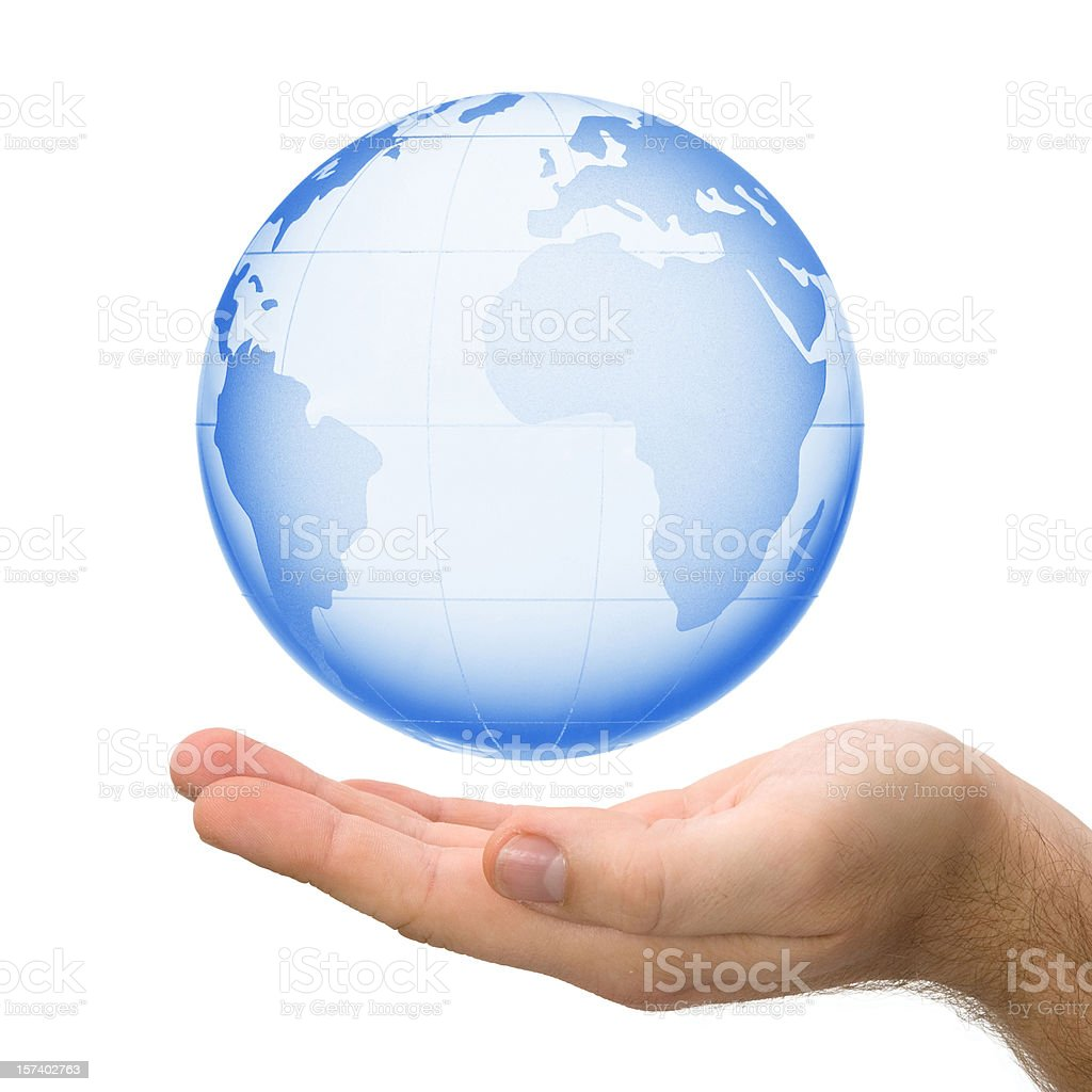 Blue World royalty-free stock photo