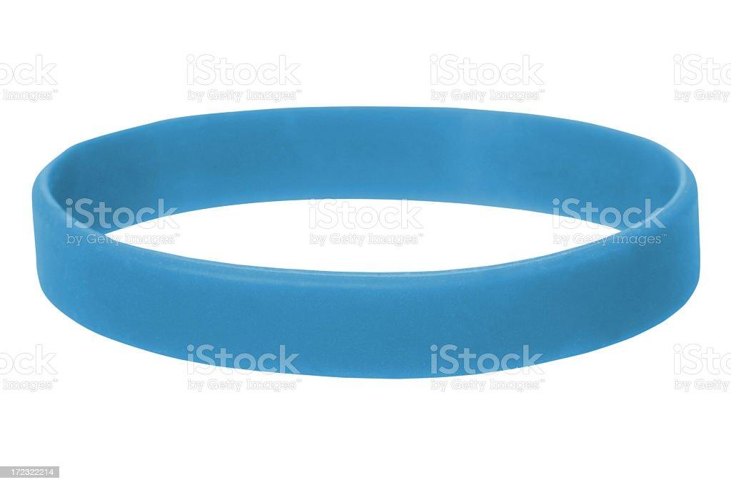 Blue Wristband royalty-free stock photo