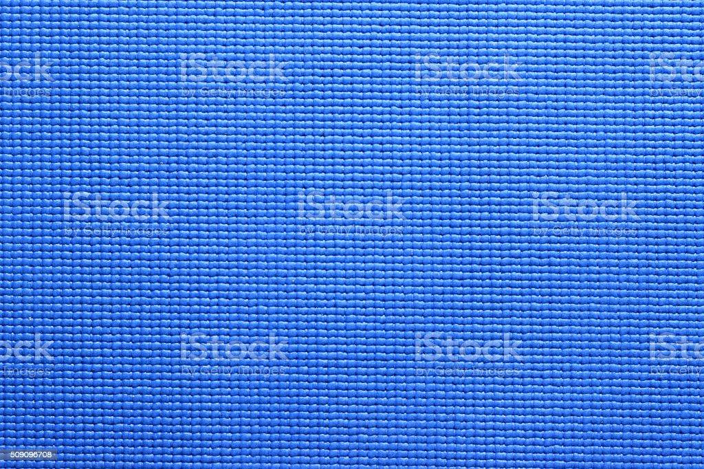 Blue Yoga Mat texture stock photo