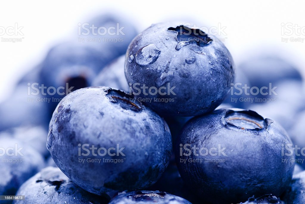 blueberries close up royalty-free stock photo