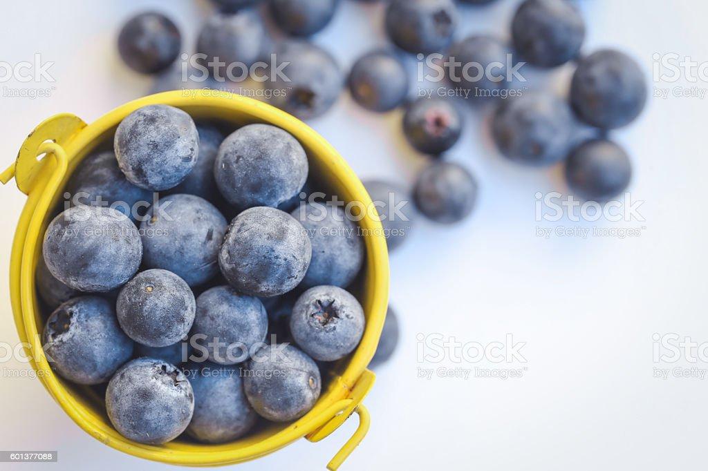 Blueberries fruit stock photo