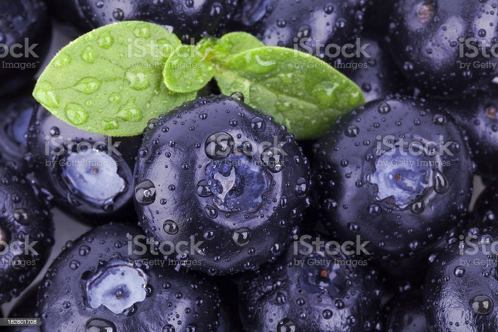 blueberries full frame background royalty-free stock photo